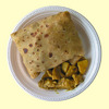 Curried Chicken Roti